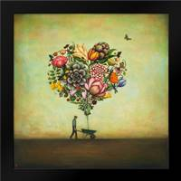 Big Heart Botany: Framed Art Print by Huynh, Duy