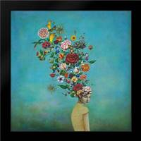 Huynh, Duy: Framed Art Print by A Mindful Garden