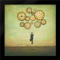 Huynh, Duy: Framed Art Print by Waiting for Time to Fly
