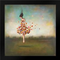 Boundlessness in Bloom: Framed Art Print by Huynh, Duy