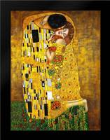 The Kiss: Framed Art Print by Klimt, Gustav