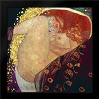 Danae, 1907-1908: Framed Art Print by Klimt, Gustav