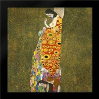Hope II, 1907-1908: Framed Art Print by Klimt, Gustav