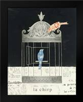 La Chirp: Framed Art Print by Adams, Emily