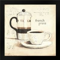 Parisian Coffee III: Framed Art Print by Adams, Emily