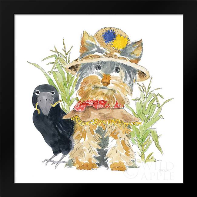 Halloween Pets IV: Framed Art Print by Grove, Beth