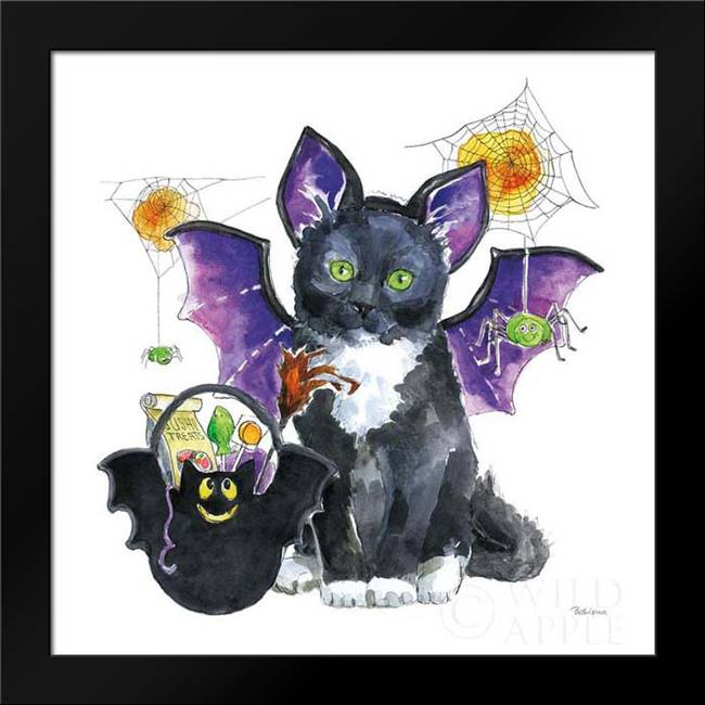 Halloween Pets VI: Framed Art Print by Grove, Beth