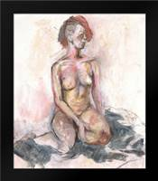 Nude I: Framed Art Print by Seay, Anne