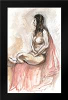Nude III: Framed Art Print by Seay, Anne