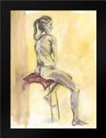 Nude IV: Framed Art Print by Seay, Anne