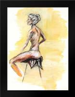 Nude V: Framed Art Print by Seay, Anne