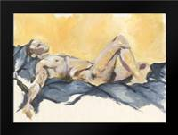 Nude VIII: Framed Art Print by Seay, Anne