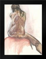 Nude X: Framed Art Print by Seay, Anne