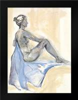 Nude XI: Framed Art Print by Seay, Anne