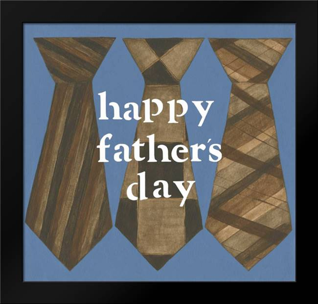 Happy Fathers Day: Framed Art Print by Shamp, Cindy
