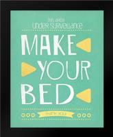 Make Your Bed: Framed Art Print by Moulton, Jo