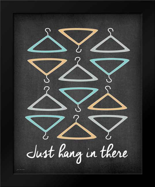 Hang in There: Framed Art Print by Moulton, Jo