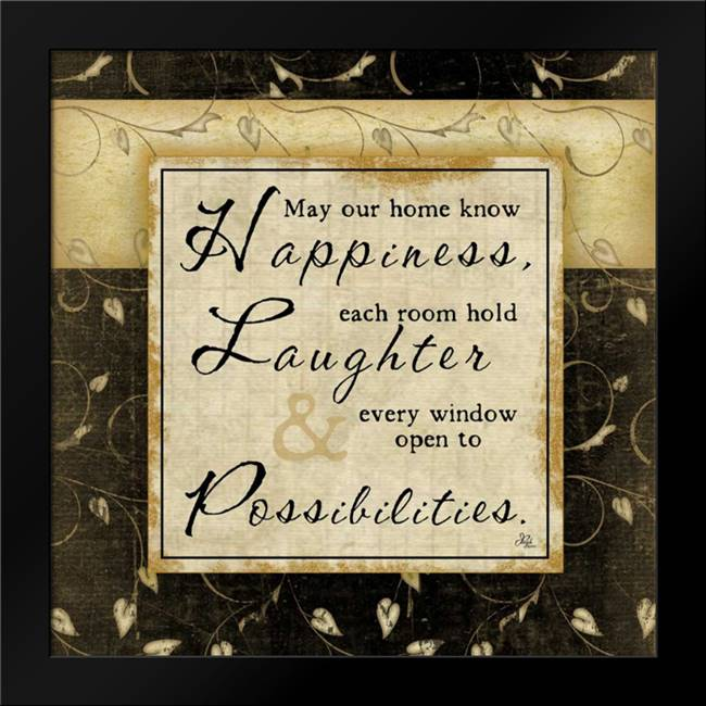 Happiness: Framed Art Print by Pugh, Jennifer