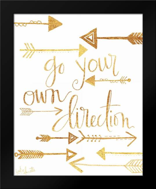 Direction: Framed Art Print by Doucette, Katie