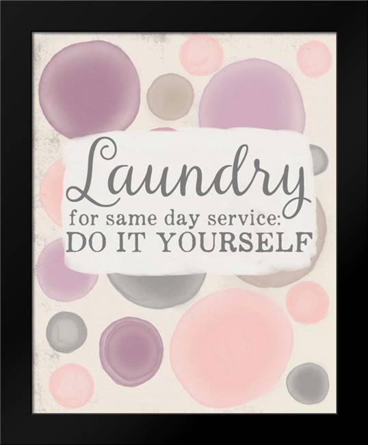 Do It Yourself Laundry: Framed Art Print by Doucette, Katie