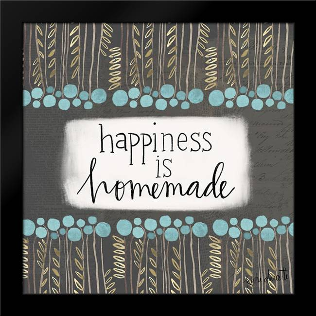 Happiness: Framed Art Print by Doucette, Katie