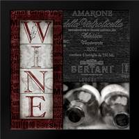 Vintage Amarone: Framed Art Print by Wolk, Lisa