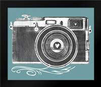 Camera: Framed Art Print by Longfellow Designs