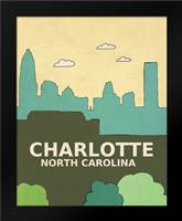 Charlotte: Framed Art Print by Barbero, Lisa