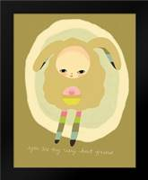 Best Friend: Framed Art Print by Barbero, Lisa