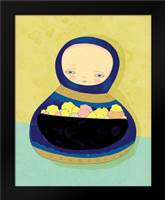 Jolanta: Framed Art Print by Barbero, Lisa