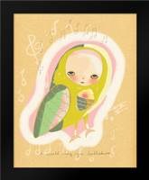 Lullabies: Framed Art Print by Barbero, Lisa