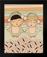 Music Together: Framed Art Print by Barbero, Lisa