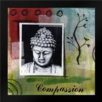 Compassion: Framed Art Print by Woods, Linda