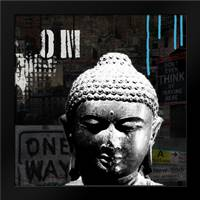 Urban Buddha I: Framed Art Print by Woods, Linda