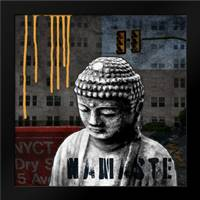 Urban Buddha III: Framed Art Print by Woods, Linda