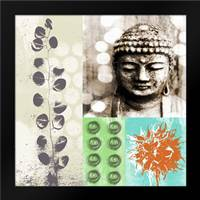 Buddha I: Framed Art Print by Woods, Linda