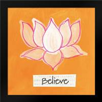 Believe: Framed Art Print by Woods, Linda
