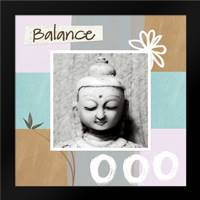Balance: Framed Art Print by Woods, Linda