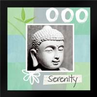 Serenity: Framed Art Print by Woods, Linda