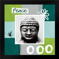Peace: Framed Art Print by Woods, Linda