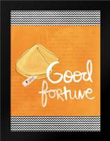 Good Fortune: Framed Art Print by Woods, Linda