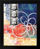 Zen Photobooth: Framed Art Print by Woods, Linda