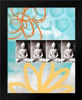 Zen Photobooth III: Framed Art Print by Woods, Linda