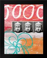 Zen Photobooth IV: Framed Art Print by Woods, Linda