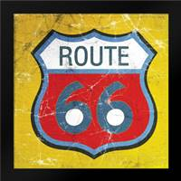 Route 66: Framed Art Print by Woods, Linda
