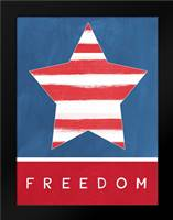 Freedom: Framed Art Print by Woods, Linda