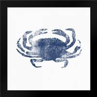Blue Crab: Framed Art Print by Woods, Linda