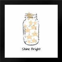 Shine Bright: Framed Art Print by Woods, Linda