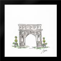 Arch de Triumph: Framed Art Print by Strong, Molly Susan
