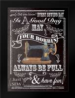 Always Be Full: Framed Art Print by P.S. Art Studios